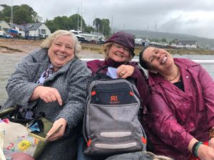 masters retreat on Holy Isle