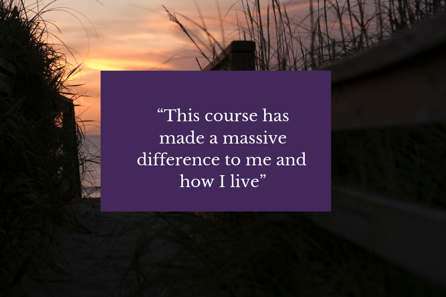 Mindfulness Association Course Quote
