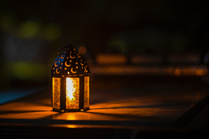 Lamp-Lit Lantern