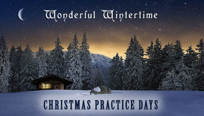 wonderful wintertime christmas practice days