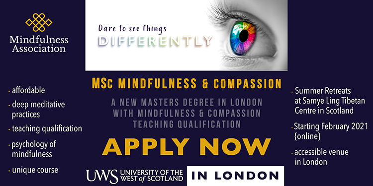 MSC Mindfulness and Compassion