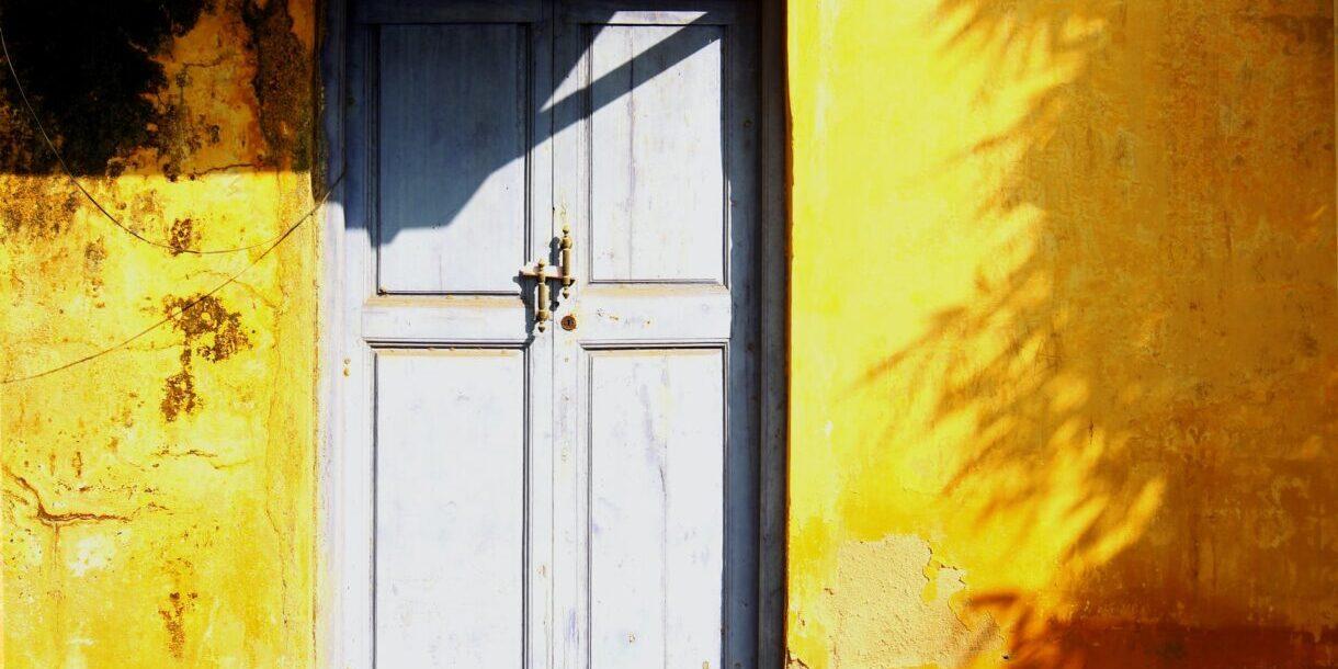 Throw the doors wide open - Jane O'Shea