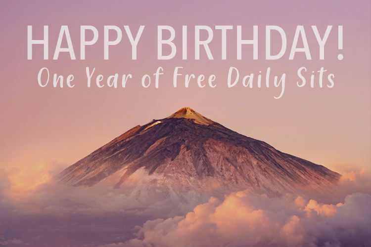 Happy birthday to the free daily sit