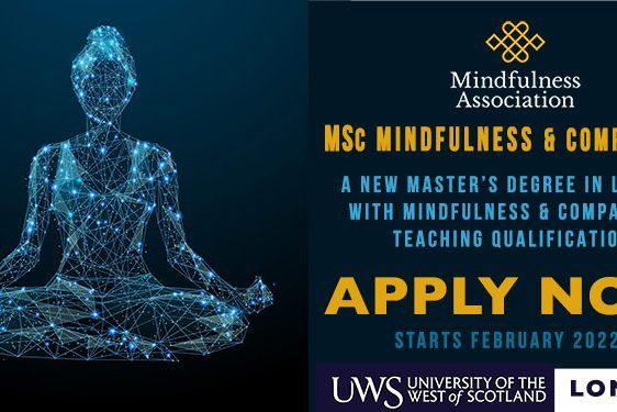 Masters Taster in Mindfulness and Compassion