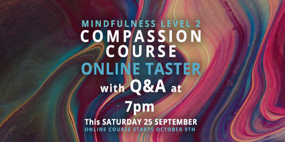COMPASSION COURSE ONLINE TASTER