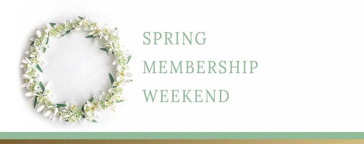 spring membership retreat